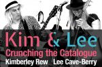Kimberly Rew and Lee cave-Berry Kim & Lee Crunching The Catalogue