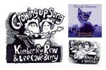 Kim & Lee Purple Kittens album singles promo graphic