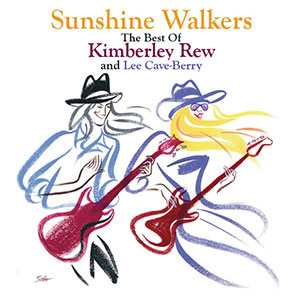 Sunshine Walkers album, from Kimberley Rew and Lee Cave-Berry - Kim & Lee